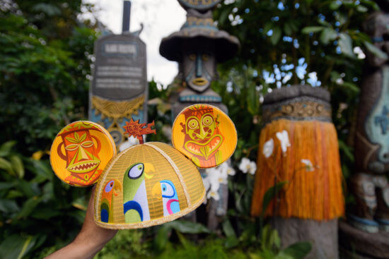 Tiki Room Mickey Mouse ear hat