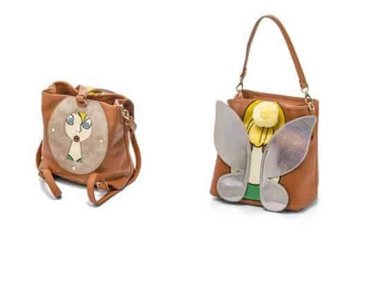Peter Pan Tinkerbell Convertible Backpack