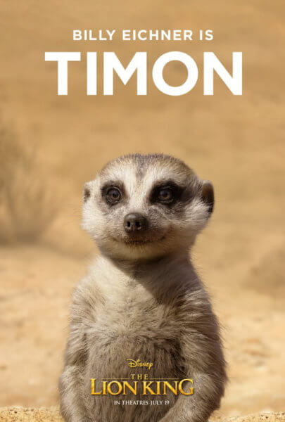 Billy Eichner as Timon in The Lion King remake