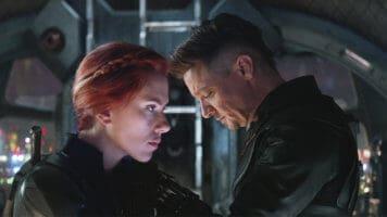 Avengers: Endgame Black Widow and Hawkeye
