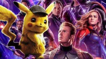 detective pikachu and avengers: endgame