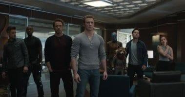 screen grab from avengers: Endgame