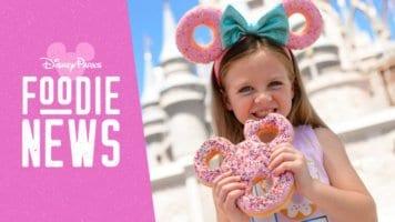 Foodie News and Mickey Celebration Donut