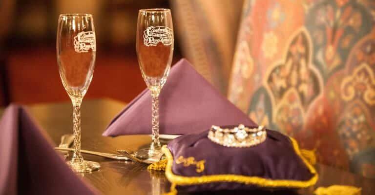 Cinderella Royal Table Celebration Package