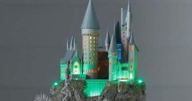 Harry Potter Castle at Hallmark