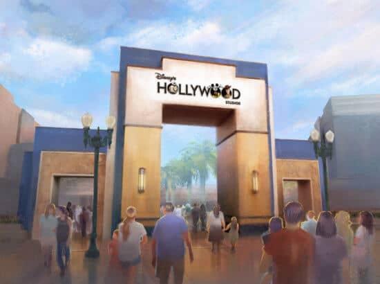 New Hollywood Studio signage