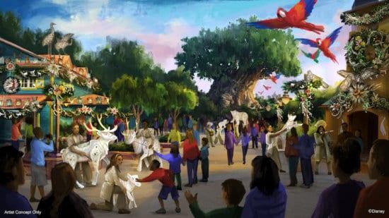 Animal Kingdom holiday celebration