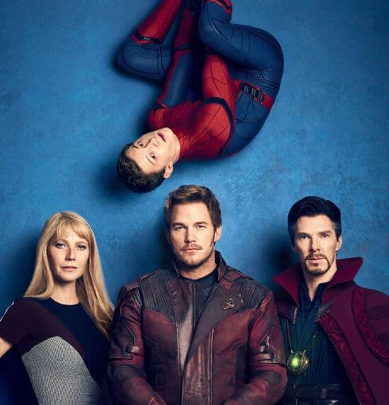 ecasting of Spider-Man, Pepper Potts, Star Lord, and Dr. Strange
