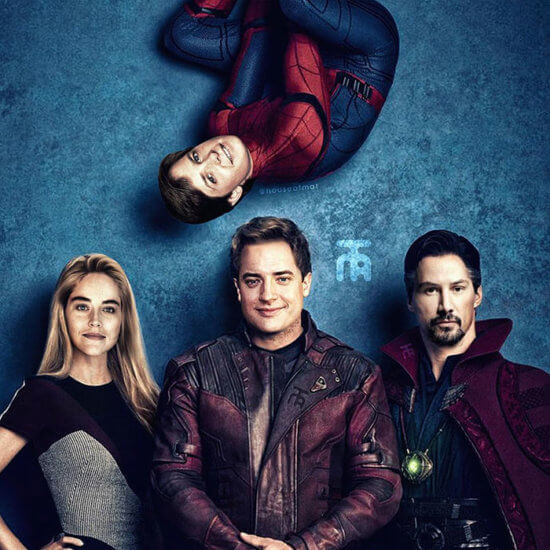 ecasting of Spider-Man, Pepper Potts, Star Lord, and Dr. Strange, with Michael J. Fox, Sharon Stone, Brendan Fraser and Keanu Reeves