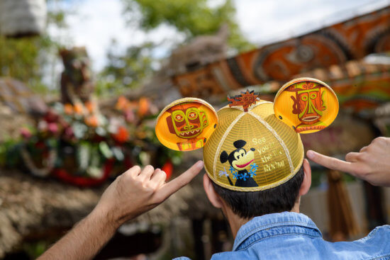 Mickey Mouse Tiki Room ear hat