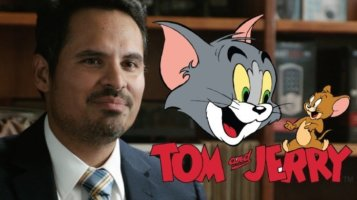 Michael Pena with Tom & Jerry