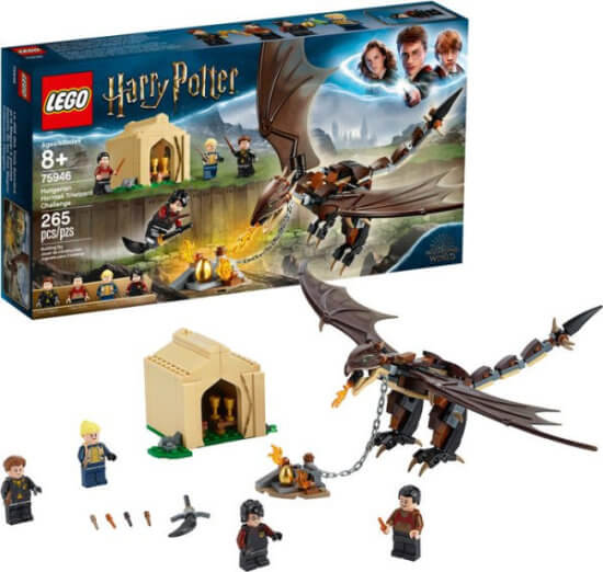 Harry Potter LEGO Horntail