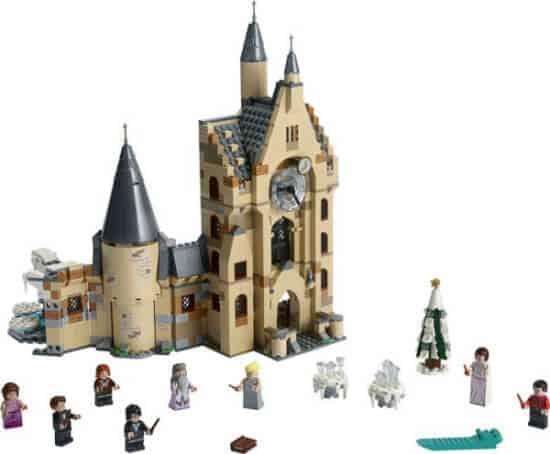 LEGO Harry Potter clock tower