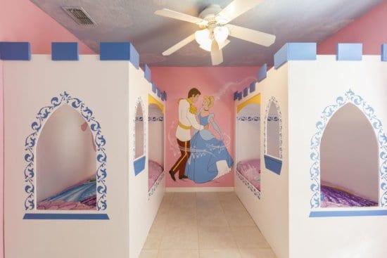Disney themed kids room