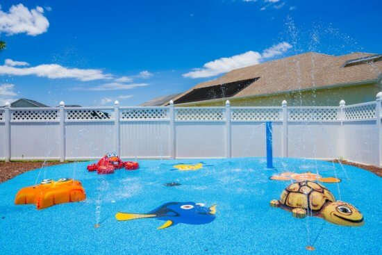 Walt Disney World vacation rental - splash pad
