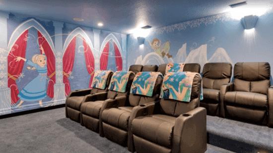 Frozen-themed theater
