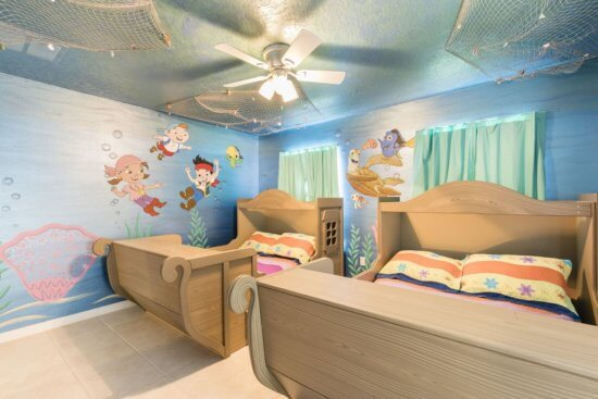 Walt Disney World vacation rental - Disney themed kids bedroom