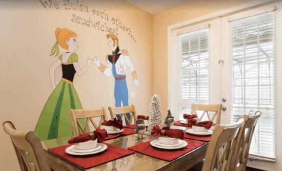 Frozen-themed kitchen