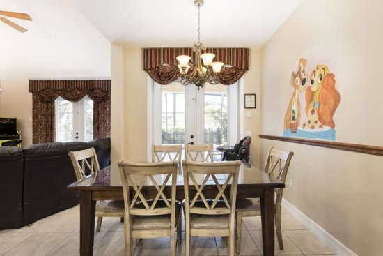 Walt Disney World vacation rental - lady and the tramp dining room