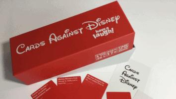 Cards Against Disney game