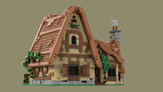 house back LEGO seven dwarfs
