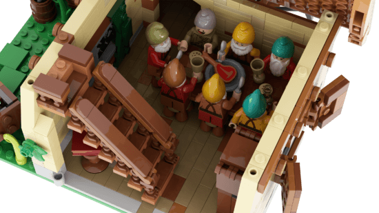 LEGO Seven Dwarfs dining