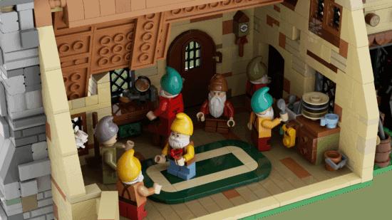 LEGO Seven Dwarfs Kitchen
