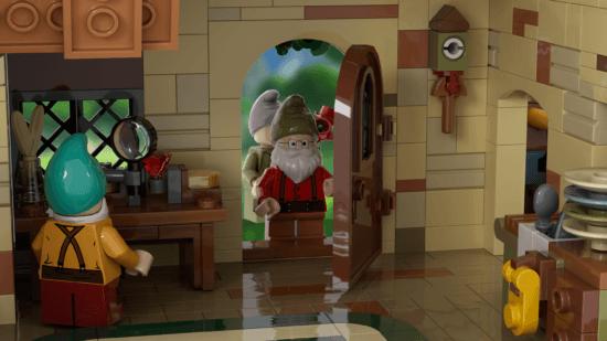 LEGO Seven Dwarfs entry