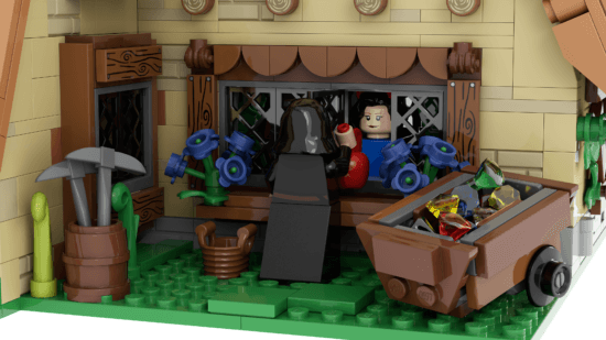 LEGO Seven Dwarfs witch at the window