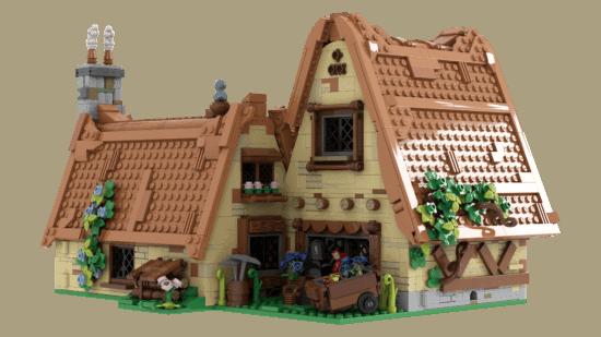 LEGO Seven Dwarfs detail