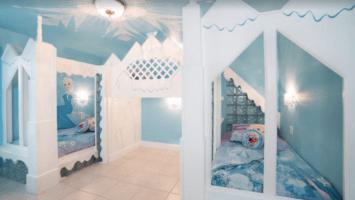 Frozen-themed bedroom