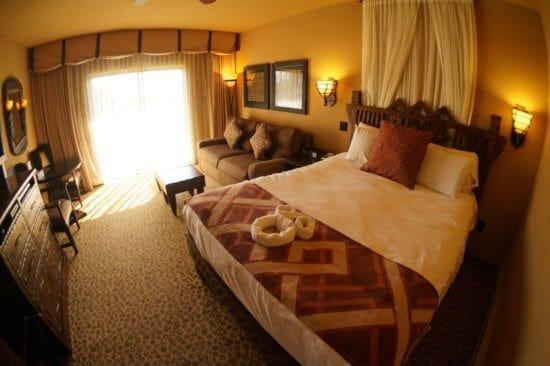 Animal Kingdom Lodge Villa room