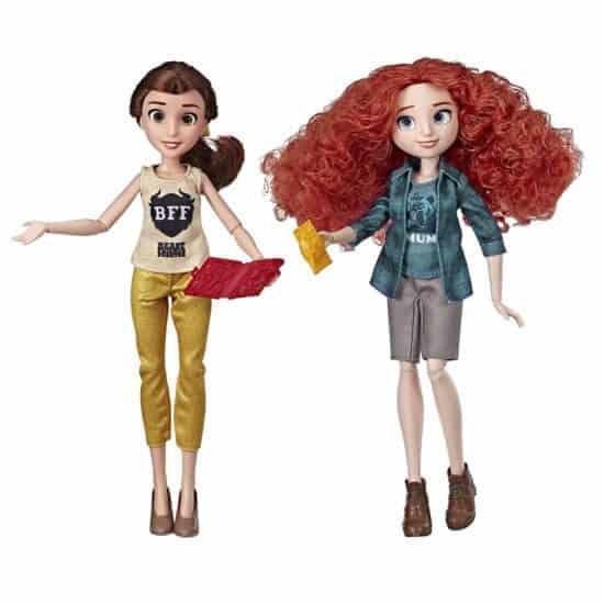 Princess Dolls Belle and Merida