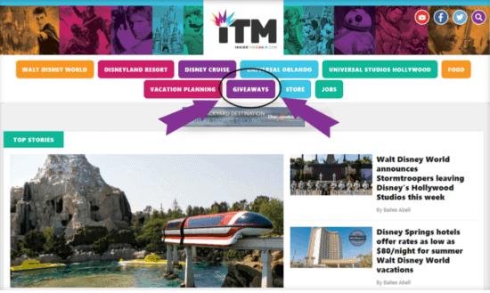 ITM Website screen shot