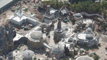 Star Wars: Galaxy's Edge construction at Disney World