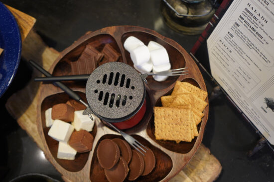 Tableside S'mores
