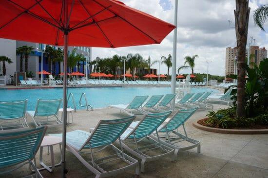 Pool at Universal Orlando's Endless Summer Resort – Surfside Inn and Suites