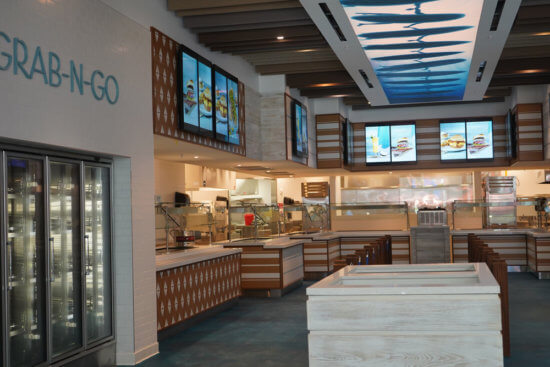 Food Court at Universal Orlando's Endless Summer Resort – Surfside Inn and Suites