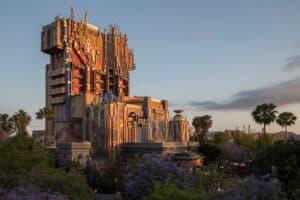 Disney California Adventure Guardians of the Galaxy Ride