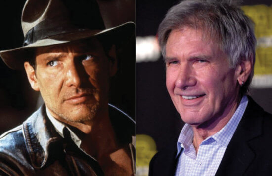Indiana Jones and Harrison Ford