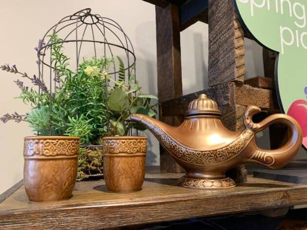 Aladdin tea set