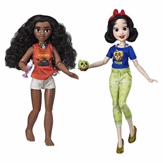 Princess Dolls Moana and Snow White