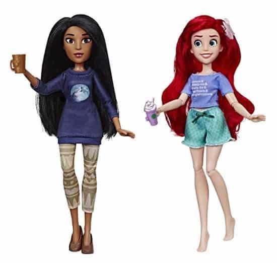 Princess Dolls Pocahontas and Ariel