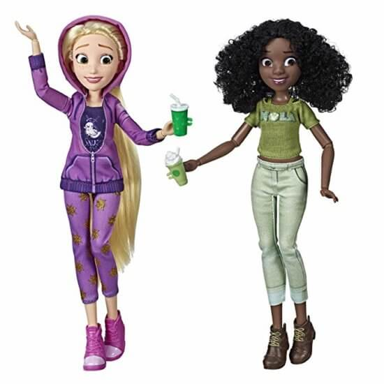 Princess Dolls Rapunzel and Tiana