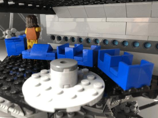 Spaceship Earth Load Area