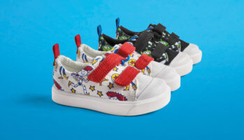 Disney/Pixar x Clarks toddler shoes