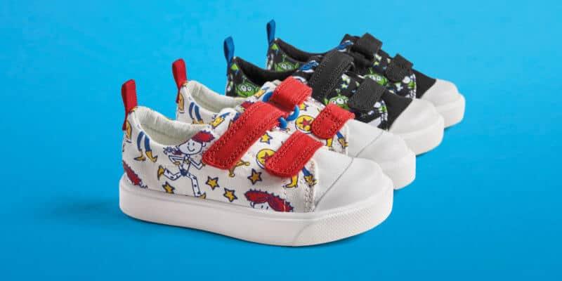 Disney/Pixar x Clarks toddler shoes