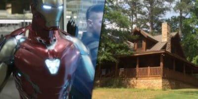 Ironman & Tony Stark's Cabin