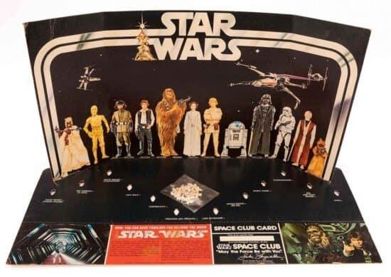 Star Wars figures preorder packaging