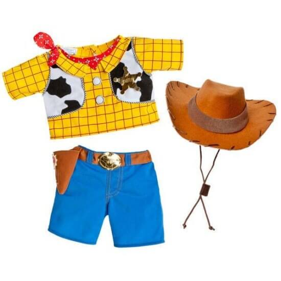 Toy Story 4 Build-A-Bear Woody clothes